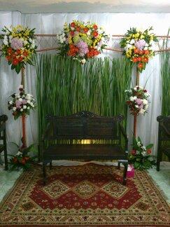 Desain Pernikahan Dekorasi Pelaminan Sederhana Di Rumah Sempit