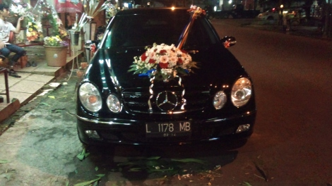 C230 MERCEDES WEDDING CAR
