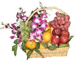 rangkaian bunga buah