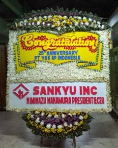 bunga papan congratulations